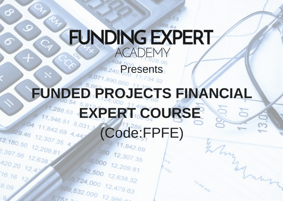 Funding Expert Academy - Funded Projects Financial Expert Course